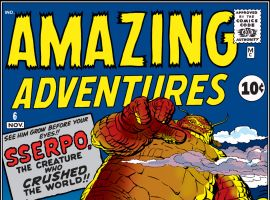 Amazing Adventures (1961) #6 Cover