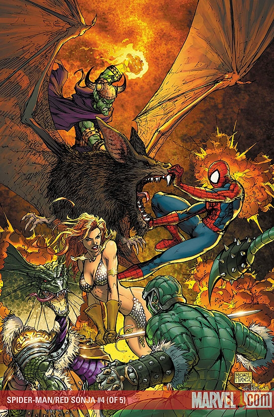 SPIDER-MAN/RED SONJA #4