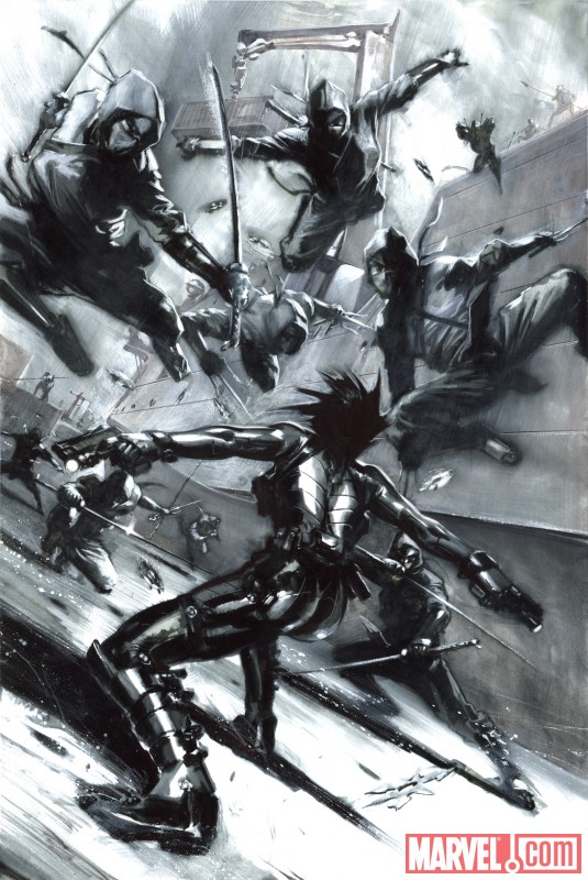 X-FORCE: SEX AND VIOLENCE #1 preview art by Gabriele Dell'Otto 5