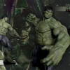 Promo piece for Muckle Mannequins' The Incredible Hulk statue