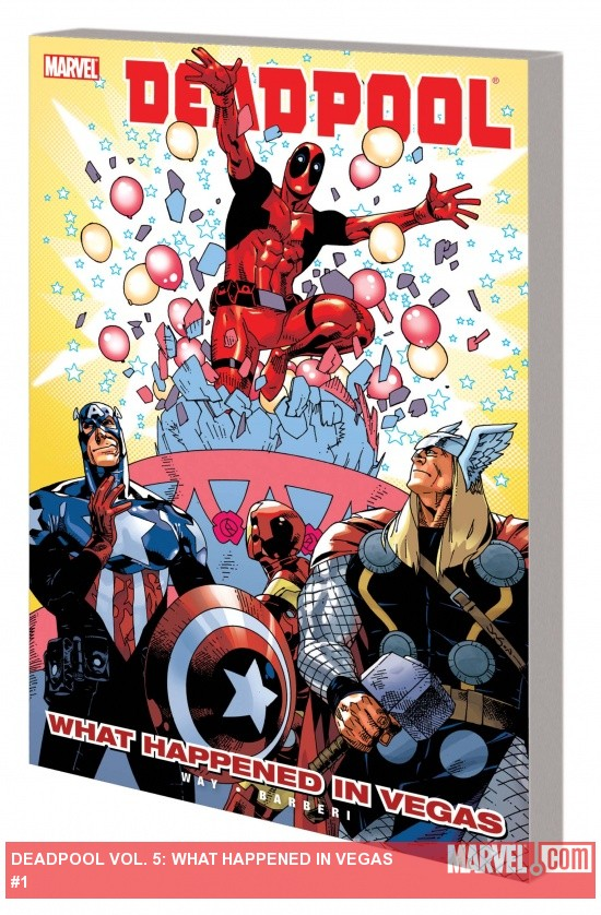 DEADPOOL VOL. 5: WHAT HAPPENED IN VEGAS TPB (COMBO)