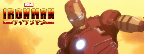 Watch a New Iron Man Anime Clip