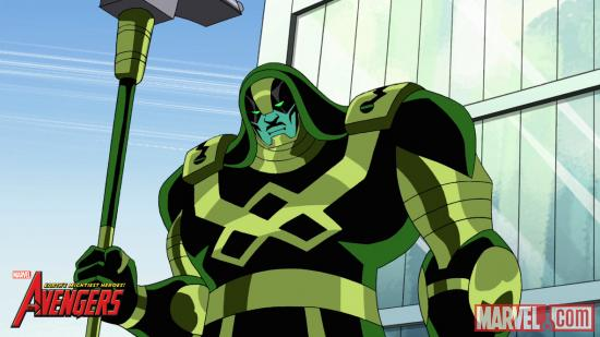 "Ronan the Accuser on ""The Avengers: Earth's Mightiest Heroes"""
