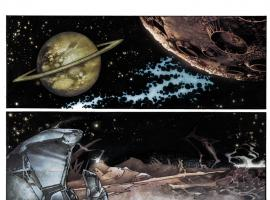 Thanos Rising #1 preview art by Simone Bianchi