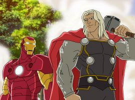 Iron Man and Thor join forces in Marvel's Avengers Assemble