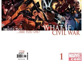 WHAT IF? CIVIL WAR Wraparound Cover by Marko Djurdjevic