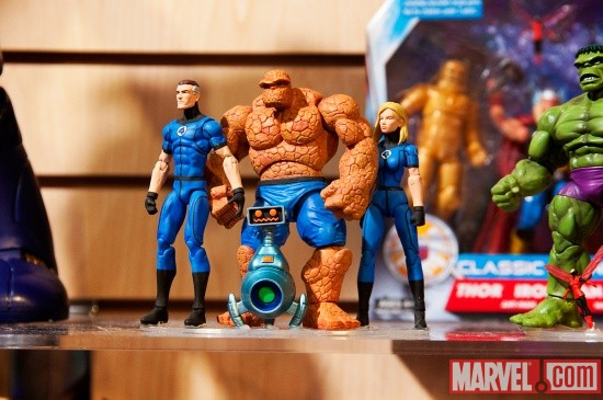 Fantastic Four Marvel Universe Action Figures from Hasbro at Toy Fair 2011