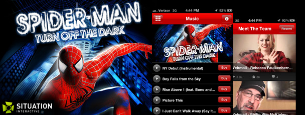 Spider-Man Turn Off The Dark App Arrives