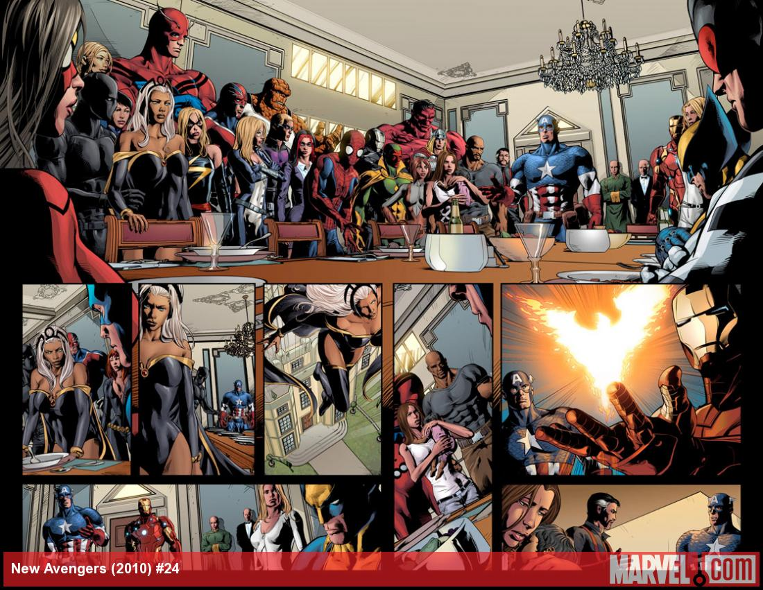 New Avengers #24 preview art