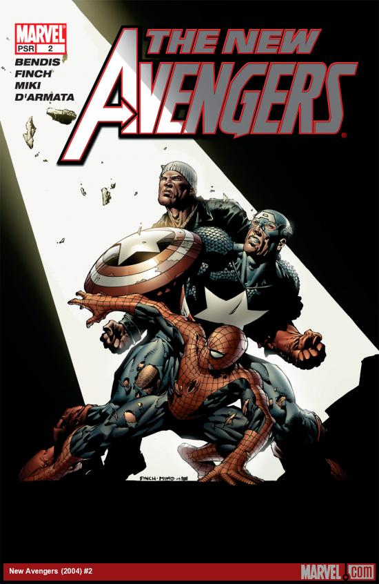New Avengers (2004) #2