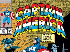 Captain America (1968) #397 Cover