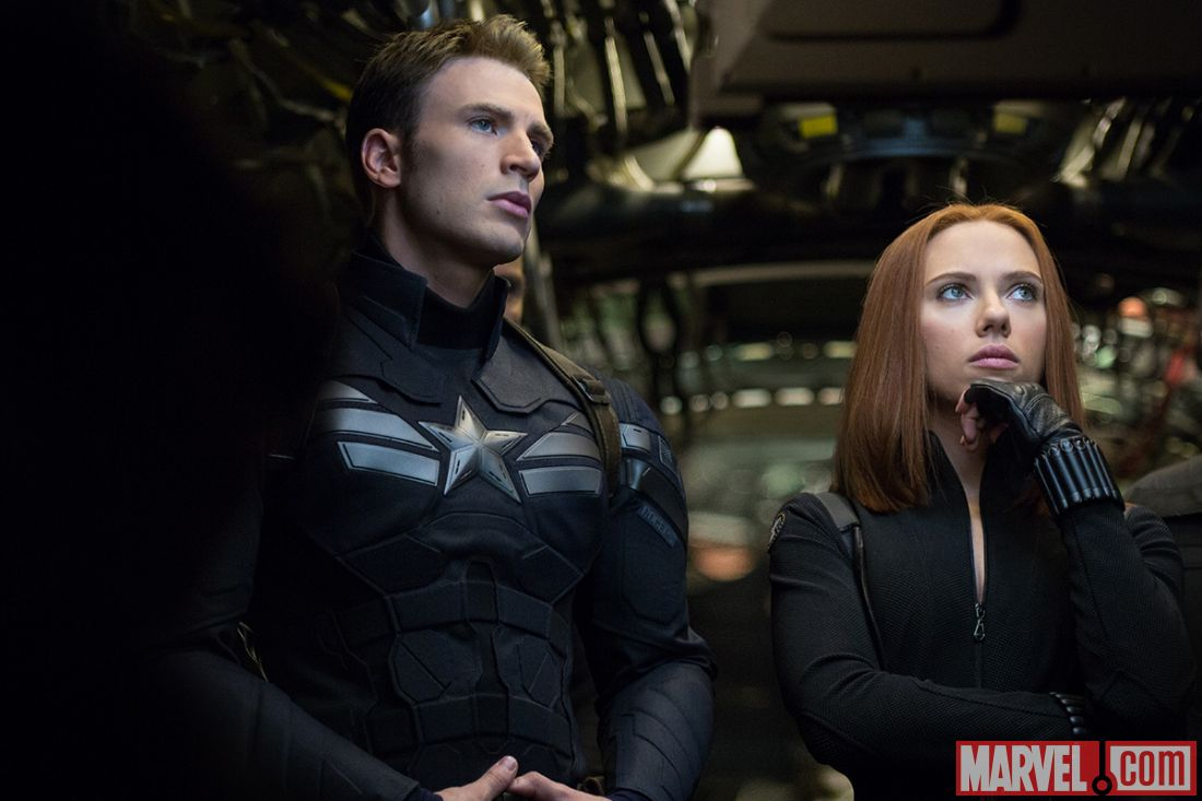Black Widow Captain America Comic Captain America And The Black