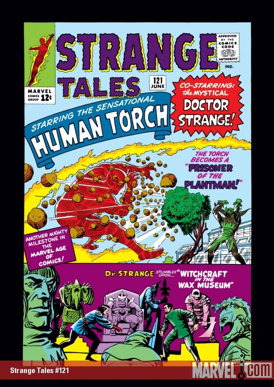 Strange Tales #121