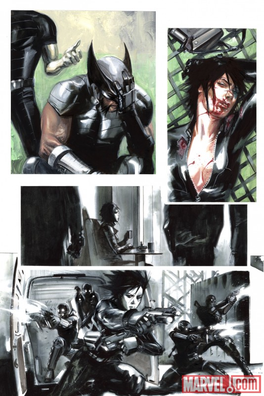 X-FORCE: SEX AND VIOLENCE #1 preview art by Gabriele Dell'Otto 6