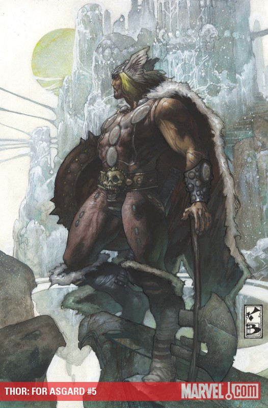 Thor: For Asgard (2010) #5