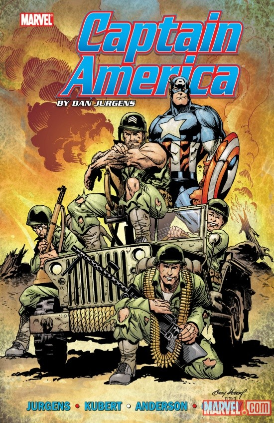 CAPTAIN AMERICA BY DAN JURGENS VOL. 1 TPB cover by Andy Kubert