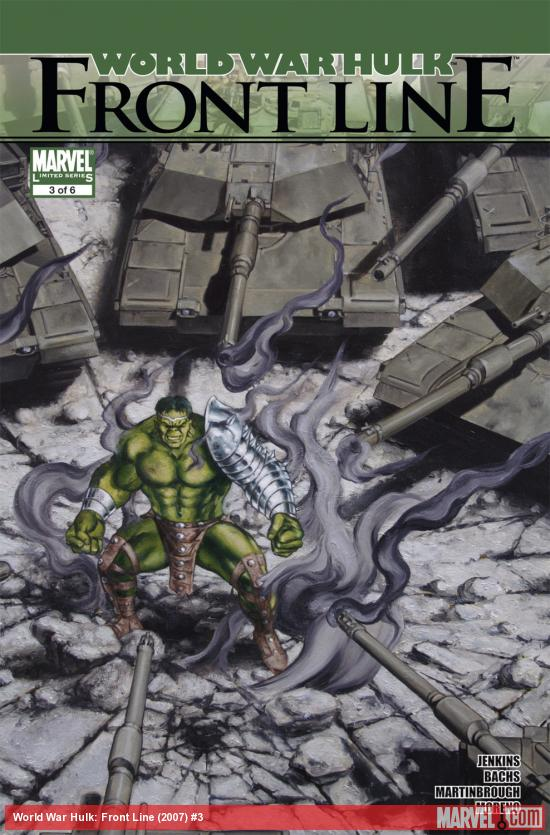 World War Hulk: Front Line (2007) #3
