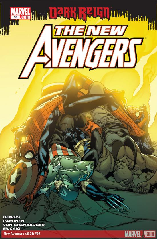 New Avengers (2004) #55