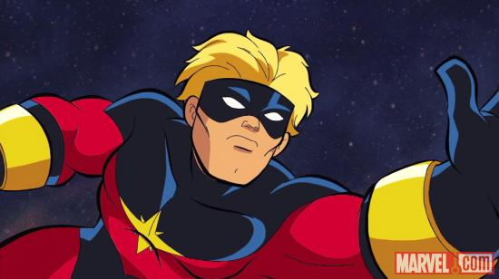 Captain Marvel in The Super Hero Squad Show