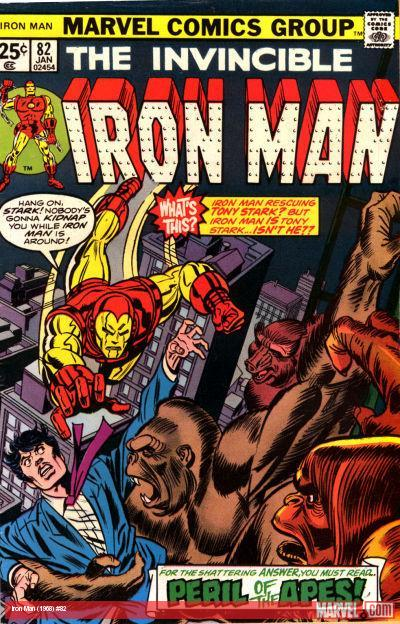 Iron Man (1968) #82 cover