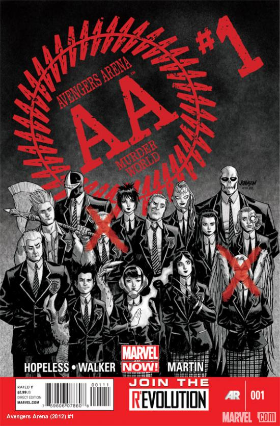 Avengers Arena #1