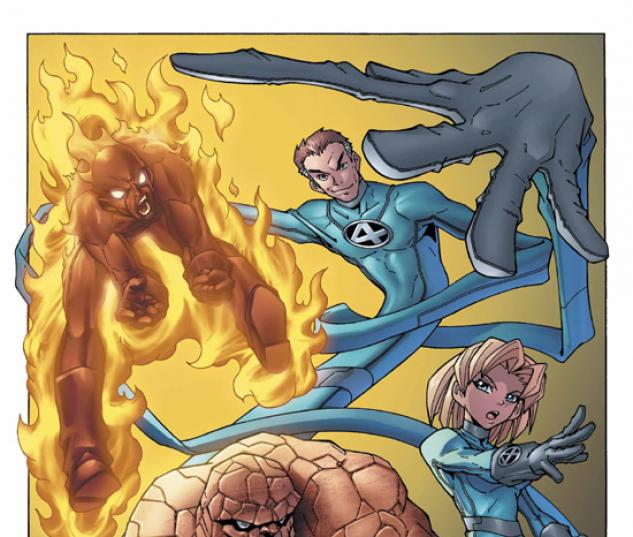 Marvel Age Fantastic Four #1