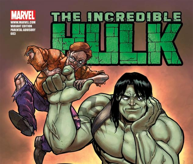 Incredible Hulks (2009) #603, ZOMBIE VARIANT