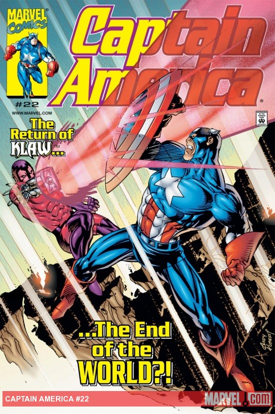 Captain America (1998) #22