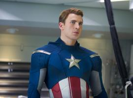 Chris Evans stars as Captain America in Captain America: The Winter Soldier