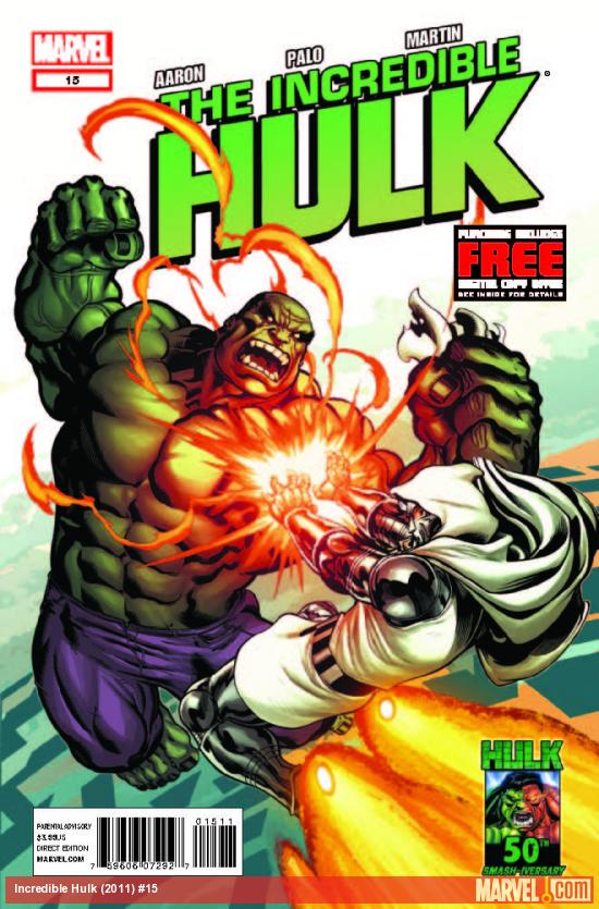 INCREDIBLE HULK 15 (WITH DIGITAL CODE)