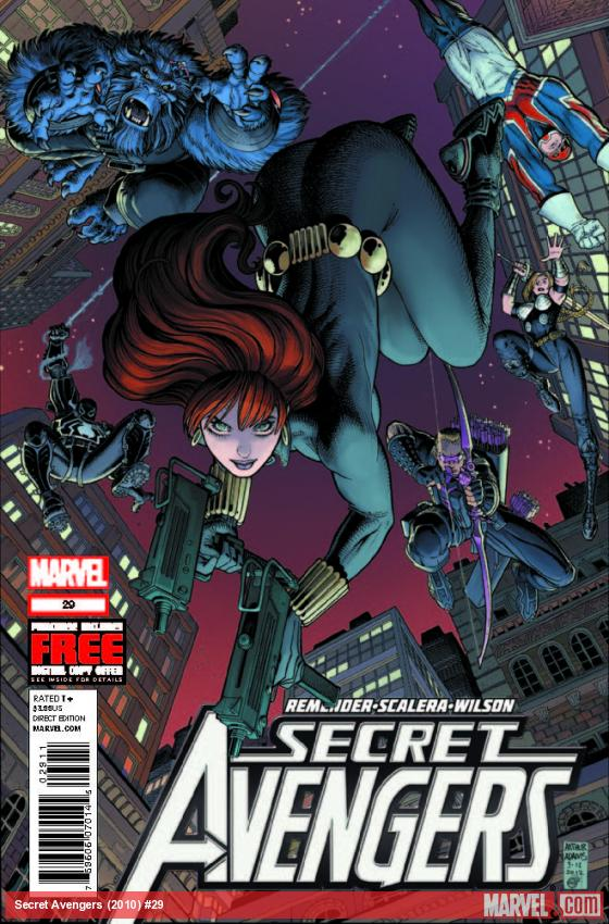 SECRET AVENGERS 29 (WITH DIGITAL CODE)