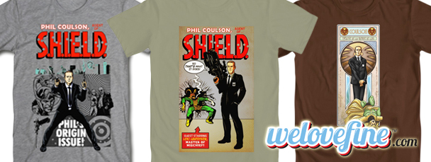 Mighty Fine: Agent Coulson Tees
