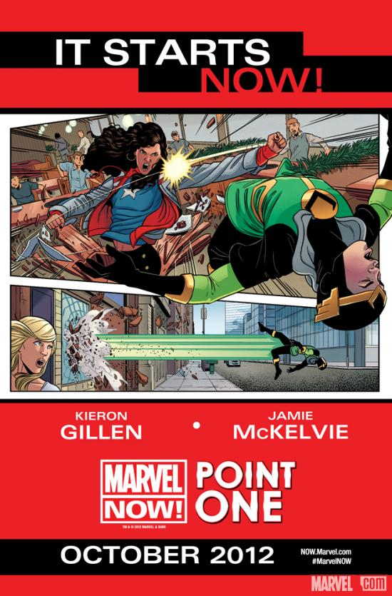 Marvel NOW! Point One teaser by Jamie McKelvie