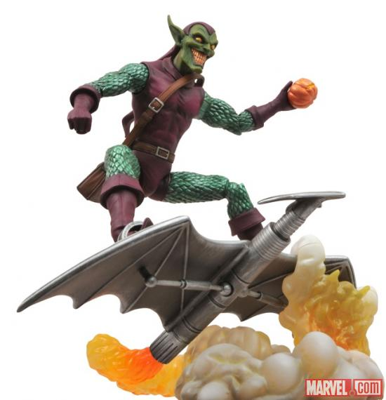Green Goblin figure from Diamond Select Toys