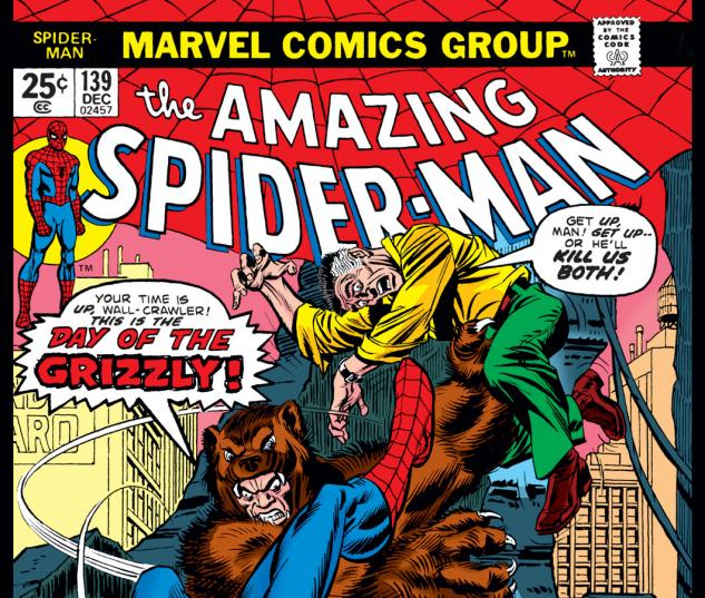 Amazing Spider-Man (1963) #139 Cover