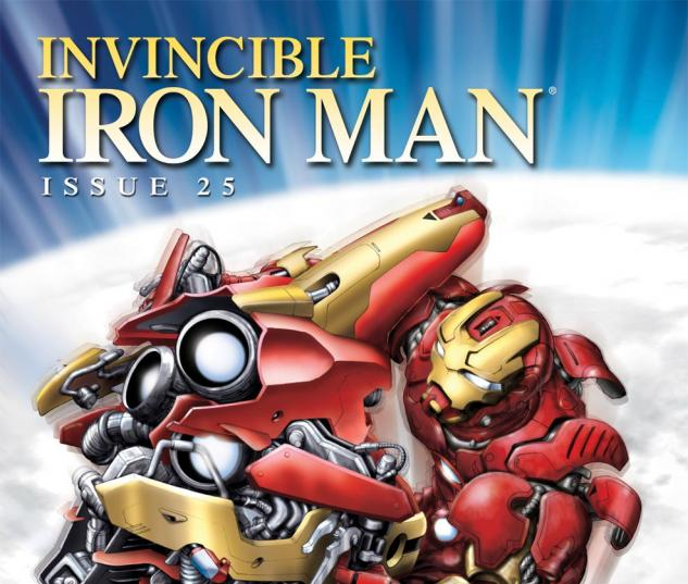 Invincible Iron Man (2008) #25, IRON MAN BY DESIGN VARIANT