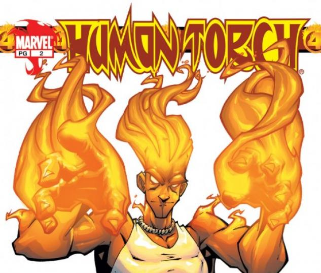 HUMAN TORCH #2