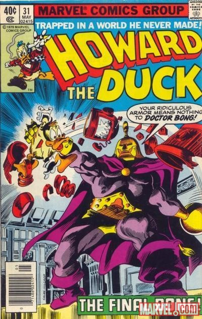 HOWARD THE DUCK #31 cover