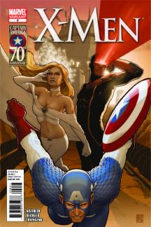 X-Men #9  (CAPTAIN AMERICA 70TH ANNIVERSARY VARIANT)