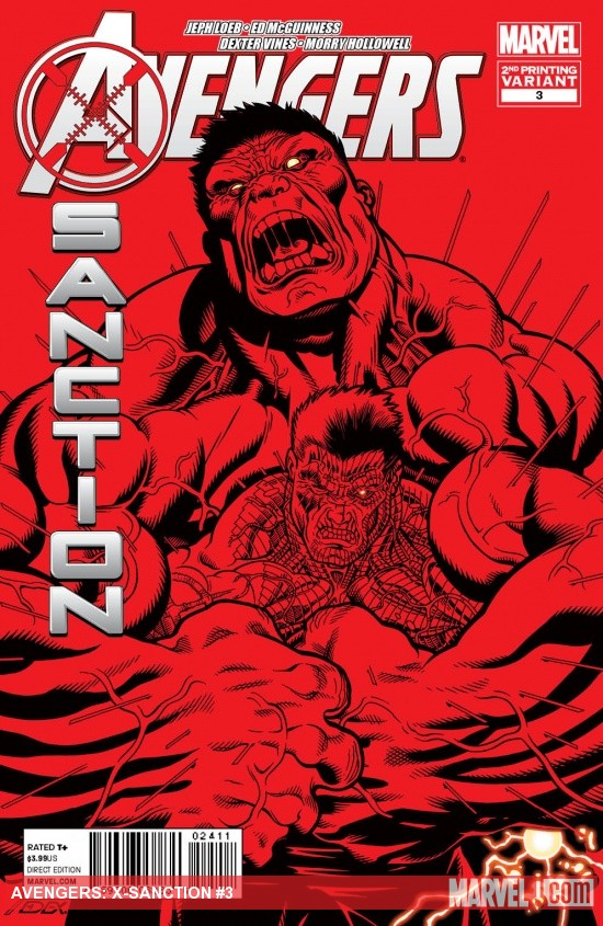 Avengers: X-Sanction #3 Variant Cover