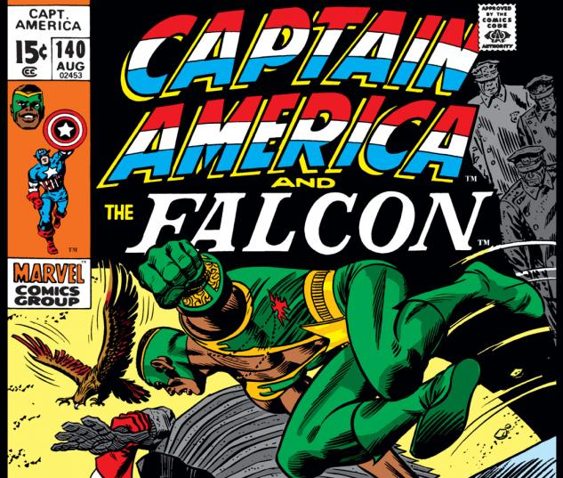 Captain America (1968) #140 Cover