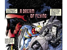 Miracleman #1 preview art by Garry Leach