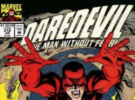 Daredevil #312 cover