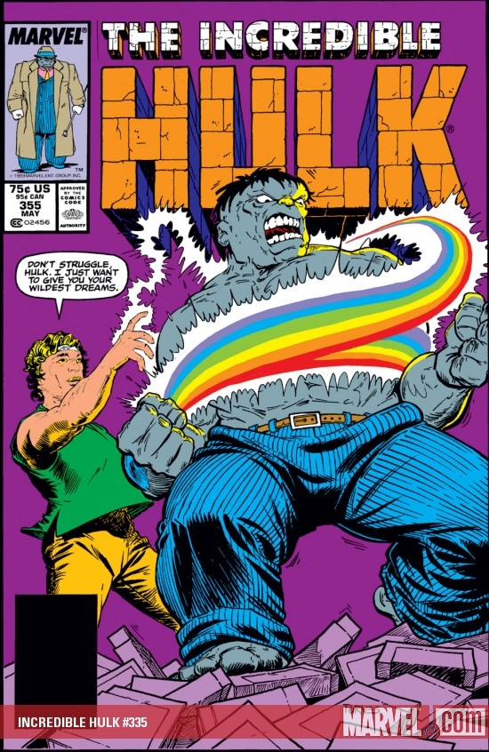 INCREDIBLE HULK (2009) #335 COVER