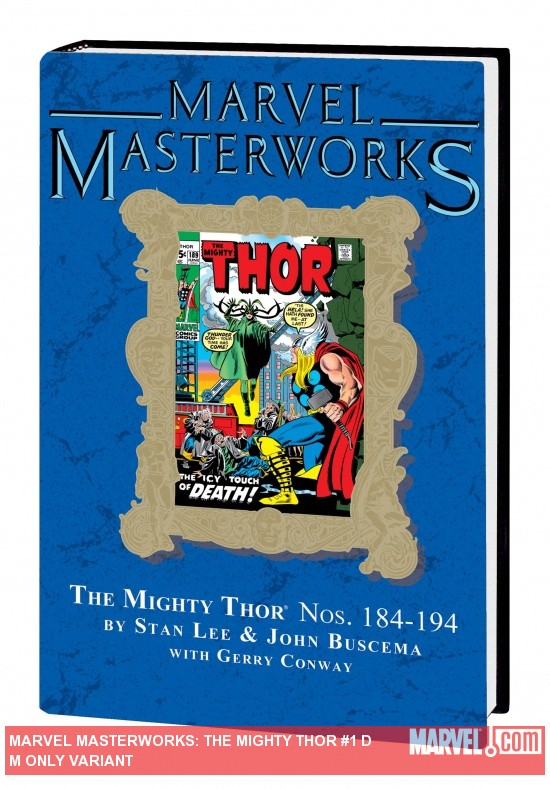 Marvel Masterworks: Mighty Thor Vol. 10 HC DM Only Variant