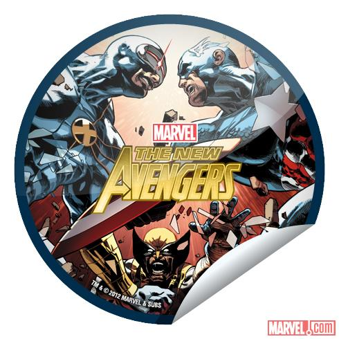 New Avengers #24 sticker