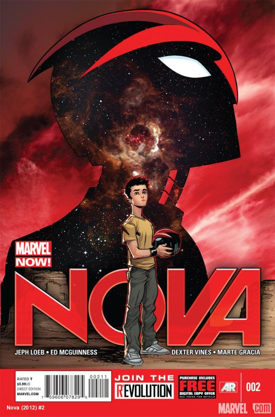 Nova (2013) #2 cover by Ed McGuinness
