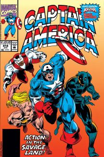 Captain America (1968) #414 Cover