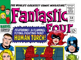 Fantastic Four (1961) #54 Cover