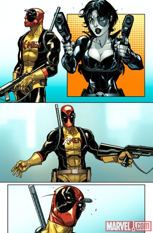 Art for DEADPOOL #18, art by Paco Medina